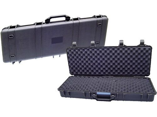 Star Src 42 Deluxe Hard Shell Polymer Airsoft Paintball Rifle Case New Ebay